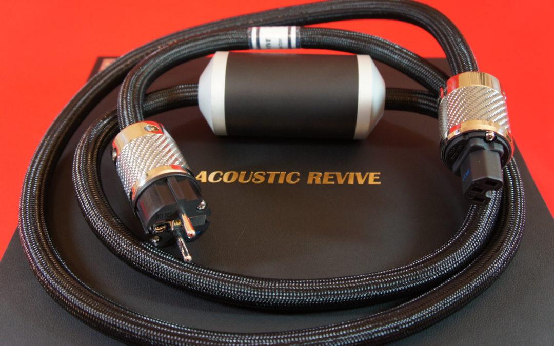 Kabelserie von Acoustic Revive