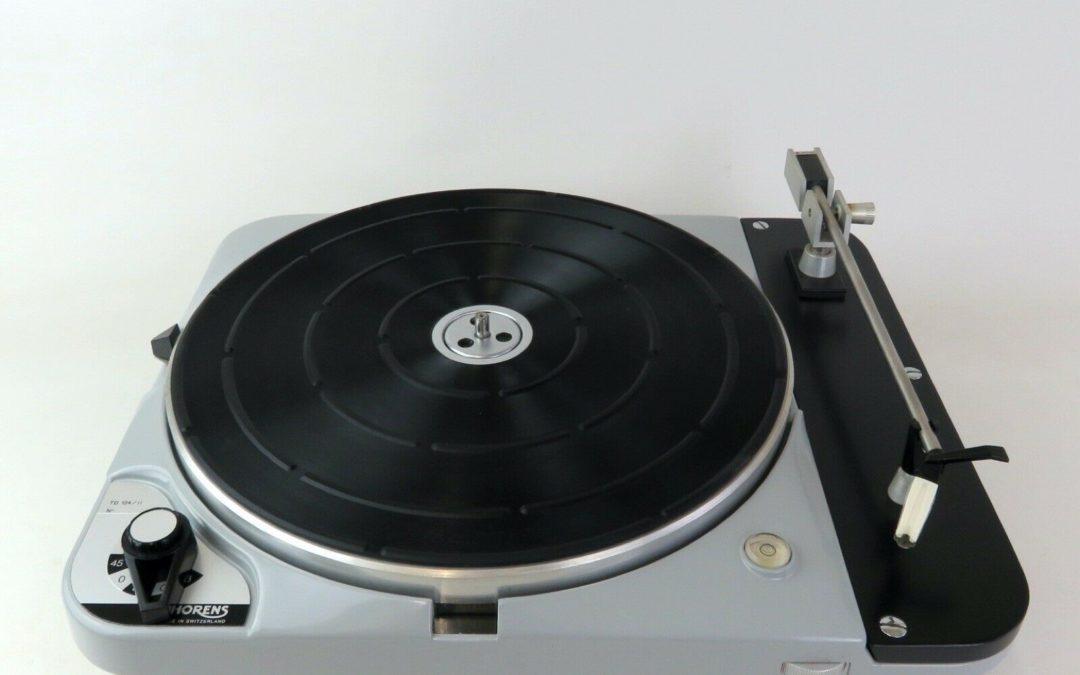 Thorens TD 124/II mit extrem seltener Arm- Tonabnehmerkombination
