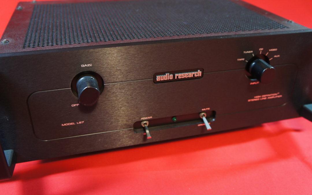 Audio Research LS 7 Röhrenvorstufe