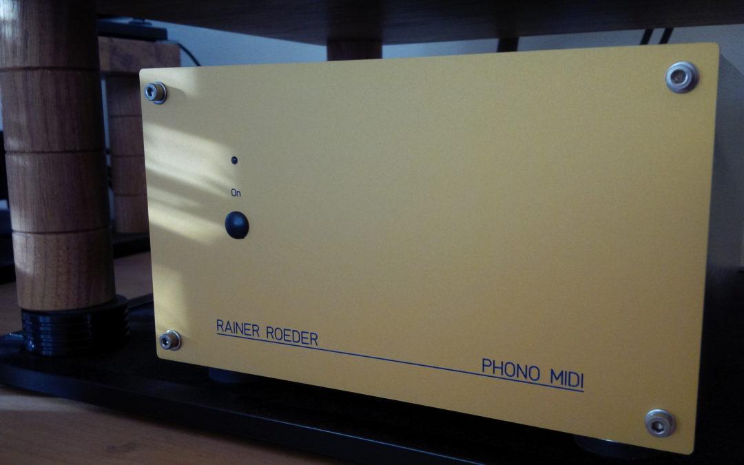 Roeder Röhrenphonovorverstärker – 3 separate Lösungen aus der Bonner Manufaktur