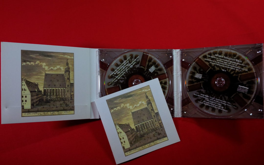 Mein Hörtipp: Limitierte BACH Doppel-CD bei der Neuen Bachgesellschaft erschienen