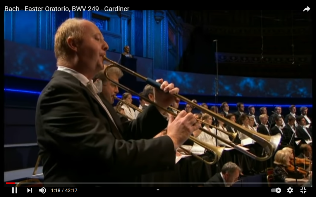 Hörtipp und Videotipp: Oster-Oratorium von Johann Sebastian Bach