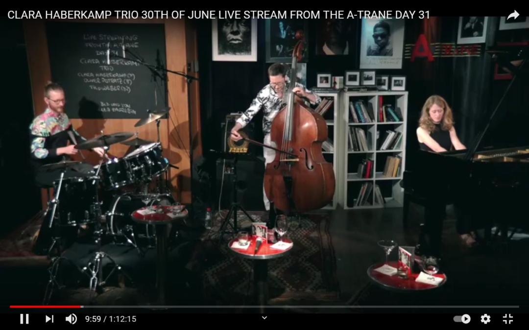 Das Clara Haberkamp Trio live im A-Trane