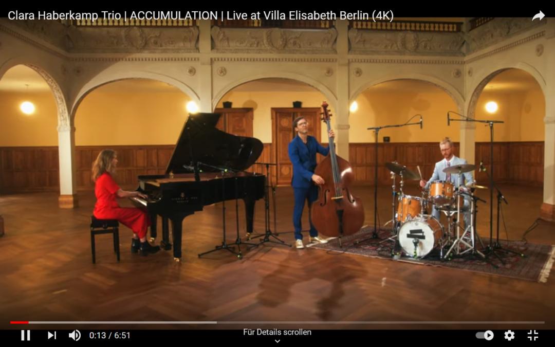 Clara Haberkamp Trio: Live at Villa Elisabeth