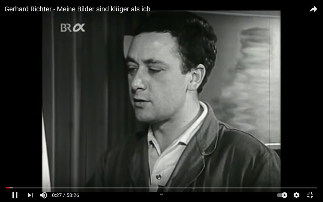 Neue / alte Dokumentation über Gerhard Richter