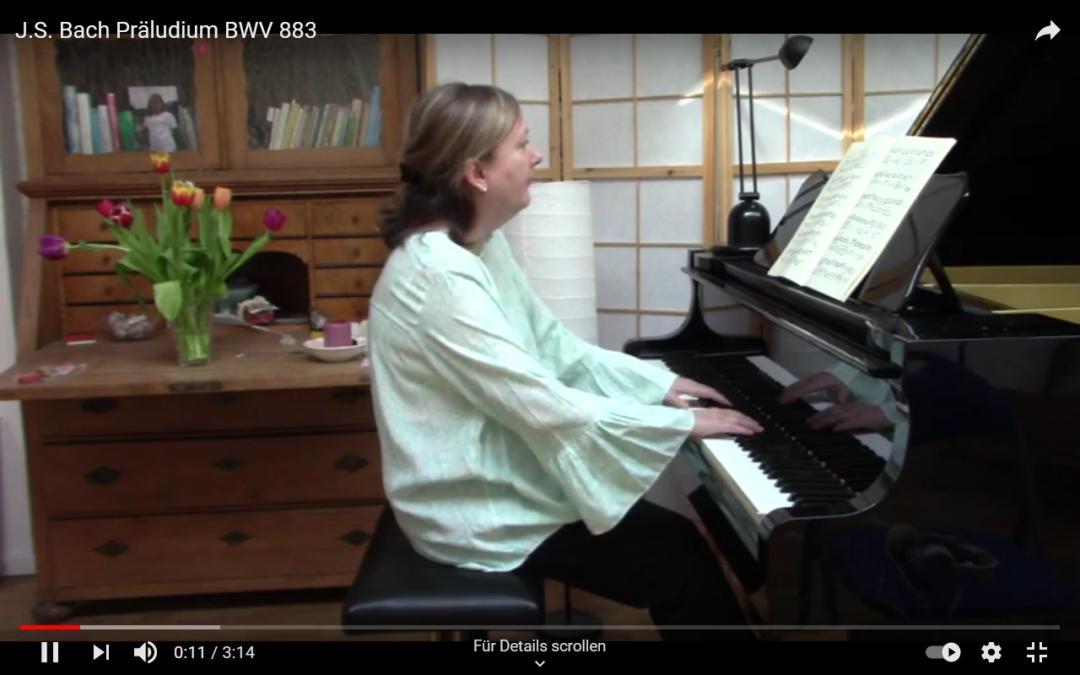 J.S. Bach: Präludium BWV 883, gespielt von M.L. Hinrichs
