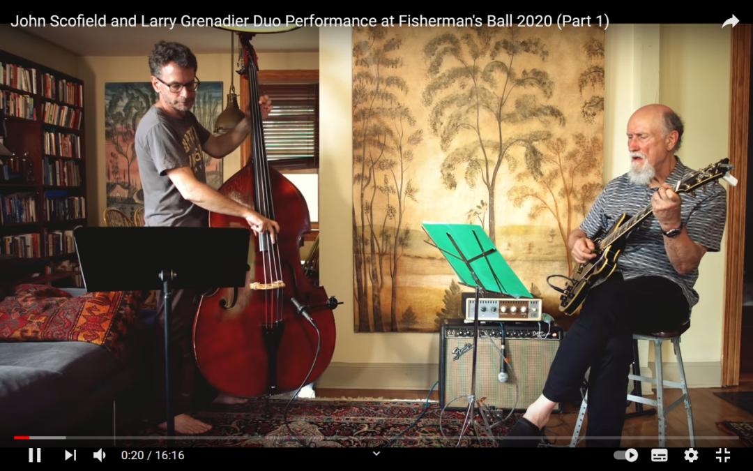 John Scofield und Larry Grenadier helfen uns bei Youtube musikalisch durch die Krise