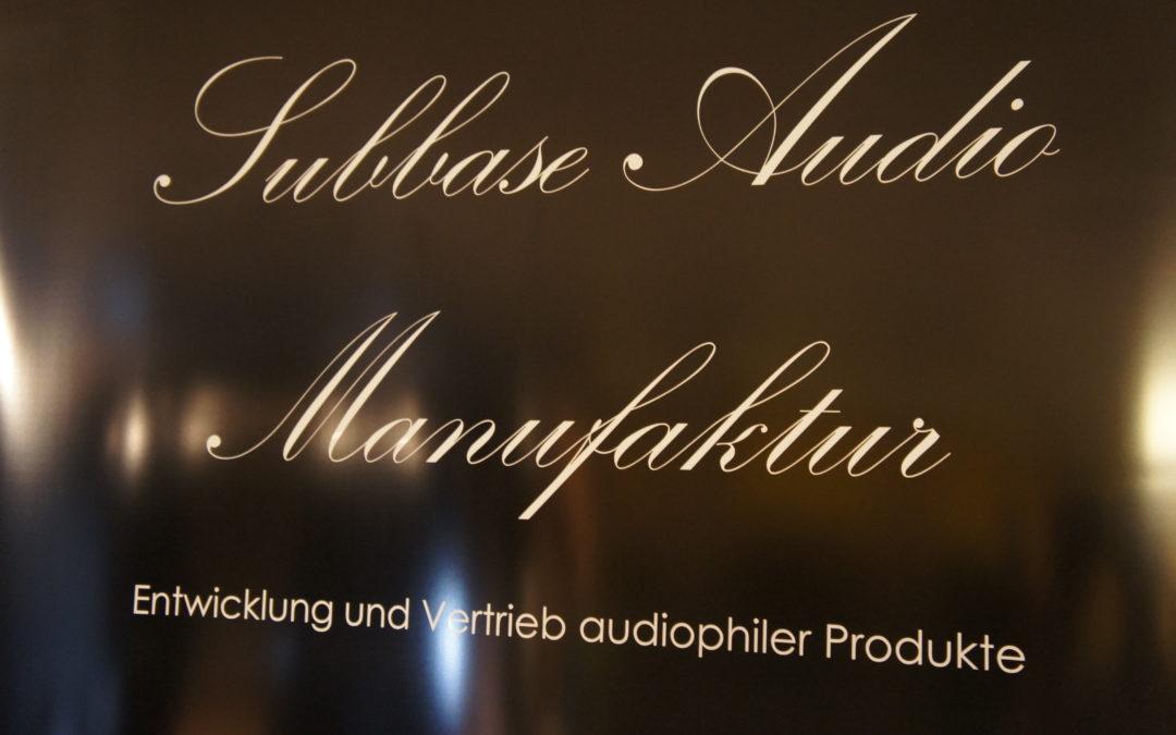 Subbase Audio – Die Musik-Manufaktur Teil 1