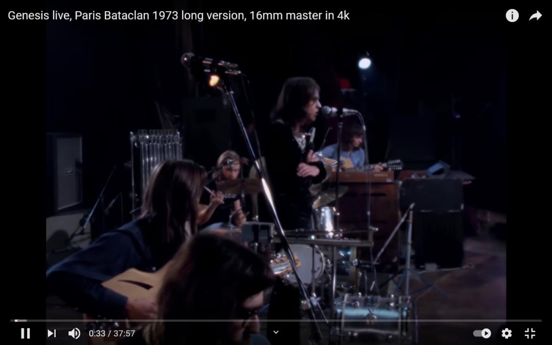 Videotipp: Genesis Live 1973!
