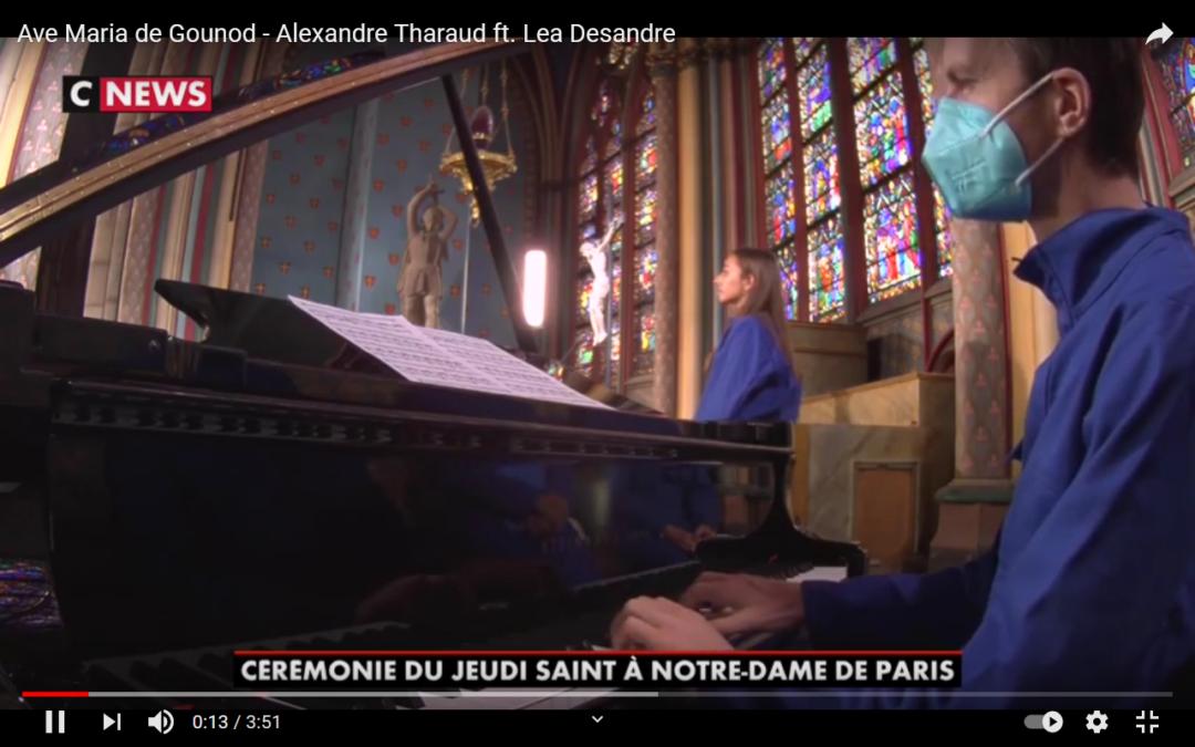 Alexandre Tharaud und Lea Desandre in Notre Dame: Ave Maria von Bach/Gounod