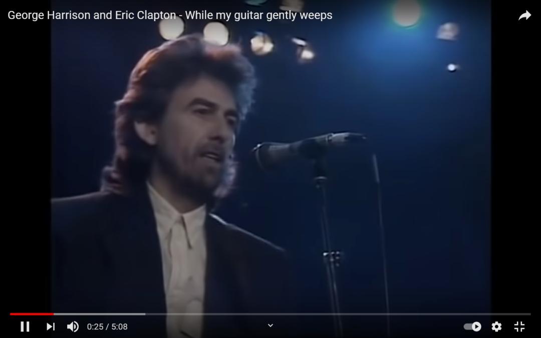 Warum weinen? Das können andere besser. Besonders Gitarren!