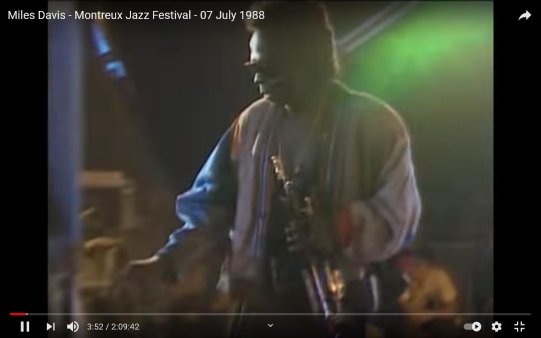 Heute vor genau 33 Jahren spielte Miles Davis beim Montreux Jazz Festival