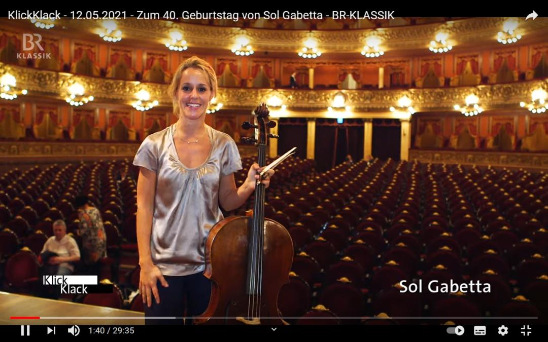 Herzlichen Glückwunsch Sol Gabetta!