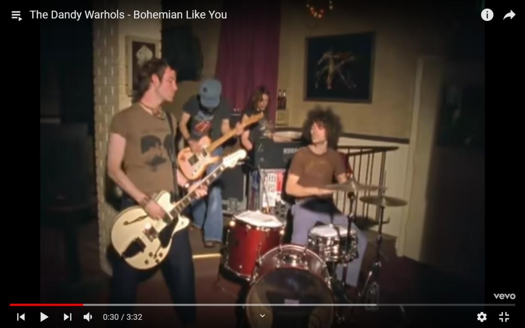 """Montag?…hier kommt die Energie für die ganze Woche: """"Bohemian Like You"""" von """"The Dandy Warhols"""""""