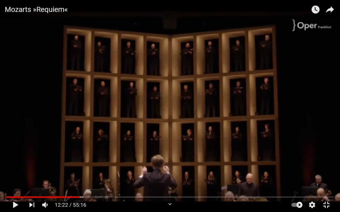 Mozarts Requiem in der Oper Frankfurt!