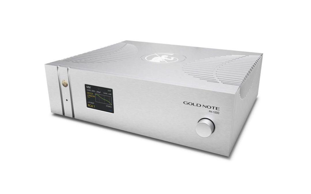 Gold Note stellt neue Referenz-Phonovorstufe PH-1000 vor!