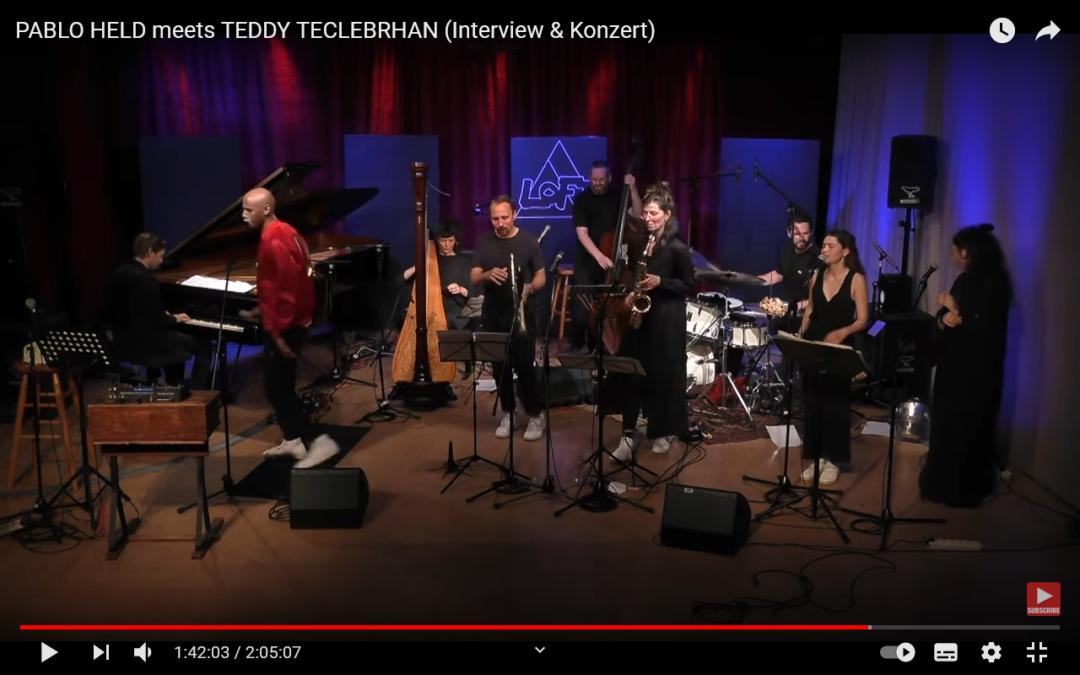 PABLO HELD trifft den großartigen TEDDY TECLEBRHAN – Interview UND ein unglaublich tolles Konzert!