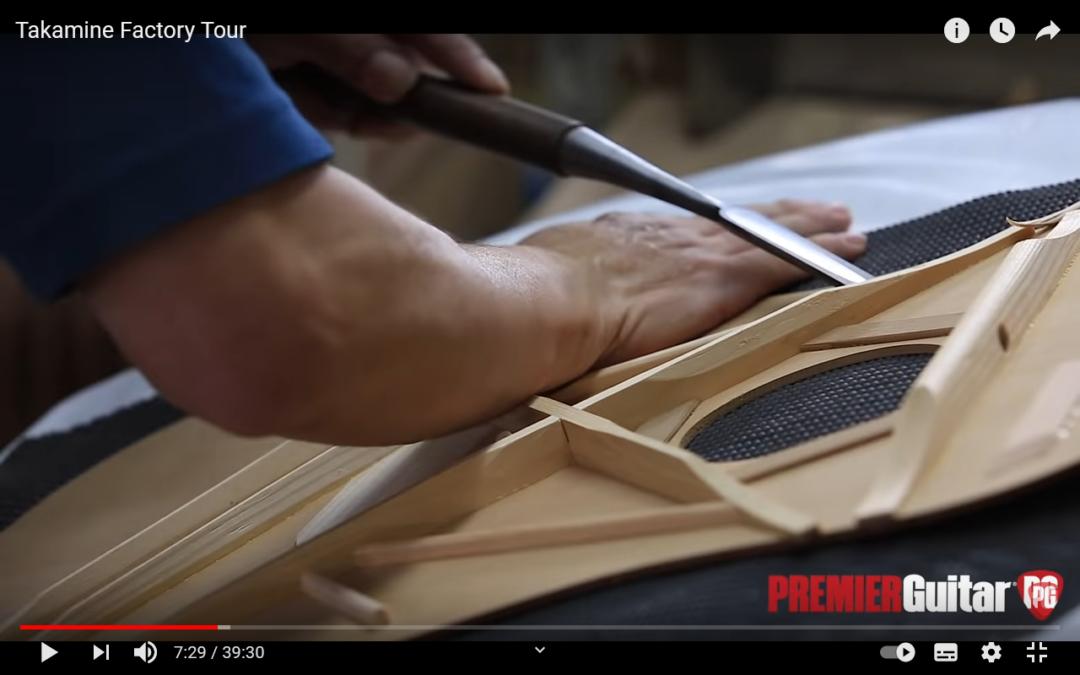 Bericht über die Takamine Gitarren-Manufaktur in Japan