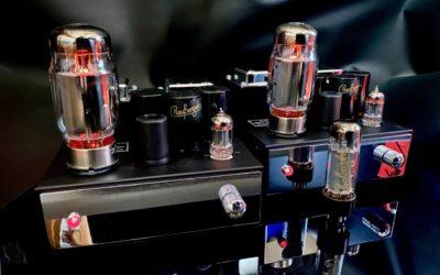 Thomas Reussenzehn hat phantastische neue SE Mono-Röhrenverstärker vorgestellt