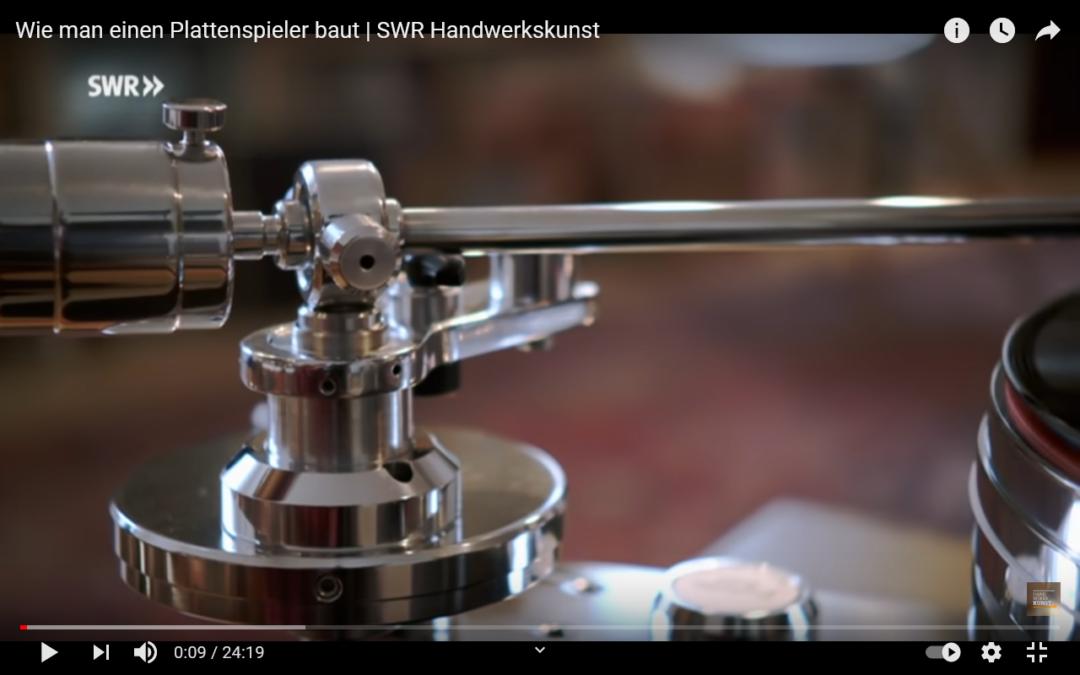"""Bericht im SWR über die Plattenspieler Manufaktur """"Acoustic Solid"""" – sehr sehenswert!"""