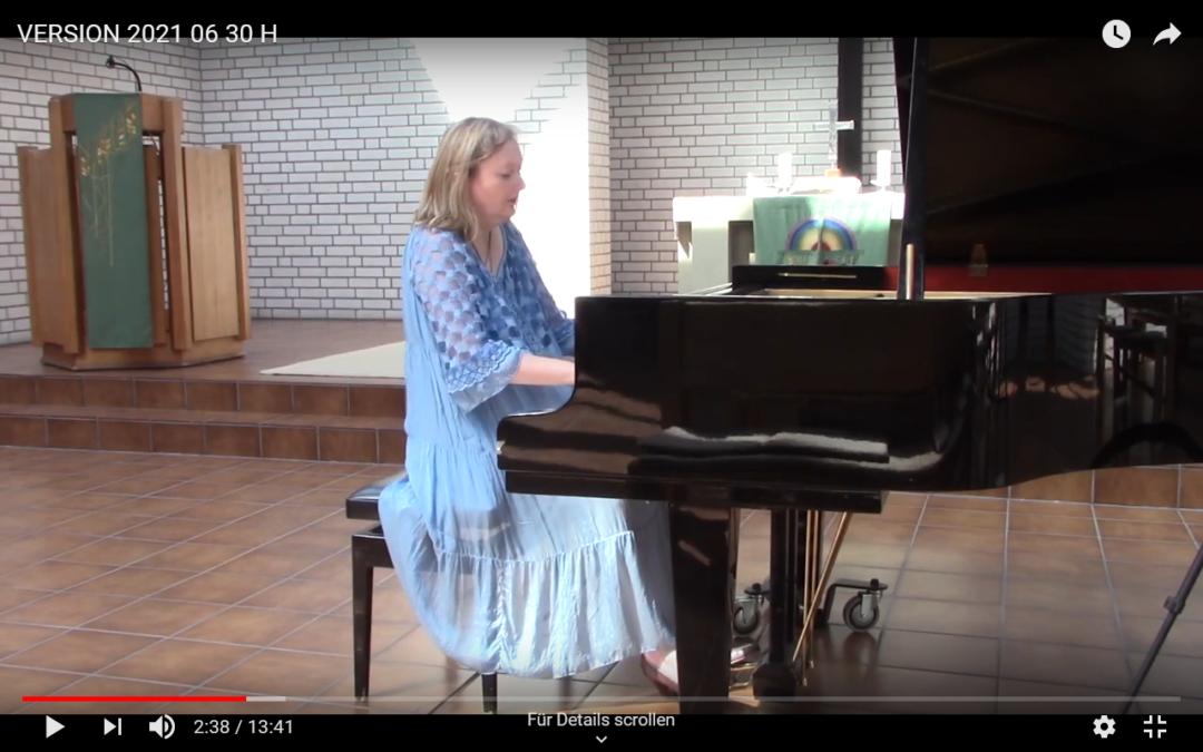 Marie-Luise Hinrichs spielt Chopin