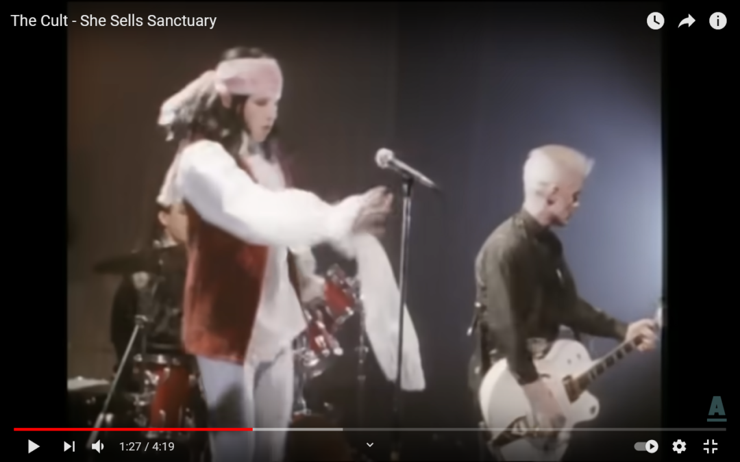 Montag…ist Kult…The Cult: She Sells sanctuary!