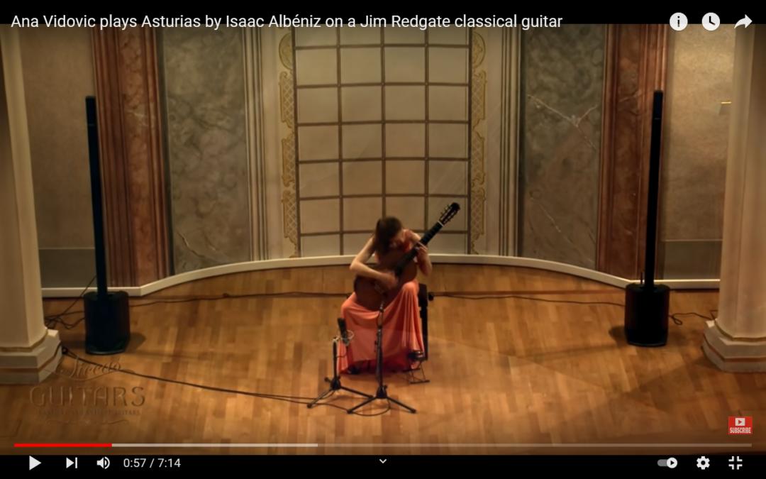 """Ana Vidovic spielt """"Asturias"""" von Isaac Albéniz"""